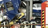 Trens batem de frente e deixam 40 feridos na Suíça