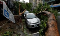 Tufão Soulik causa morte e deixa 21 feridos em Taiwan