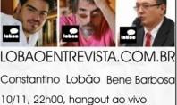 Ao Vivo: Lobão entrevista Rodrigo Constantino e Bene Barbosa