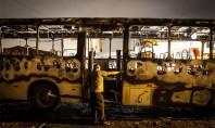 Ataques em SP deixam cinco ônibus queimados na ZL