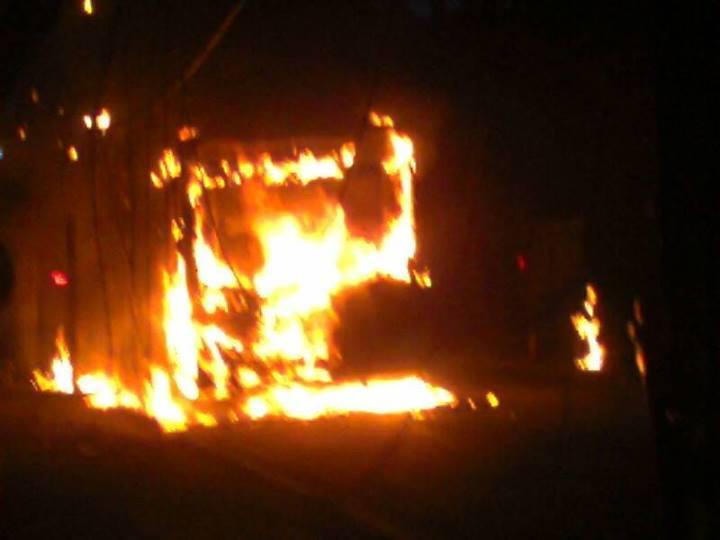 SP registra terceiro ônibus queimado nesta quarta-feira; total chega a 34