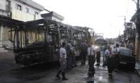 Ônibus são incendiados no Capão Redondo após morte de jovens