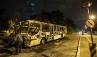 Ônibus é incendiado no Jaraguá, Zona Oeste de SP