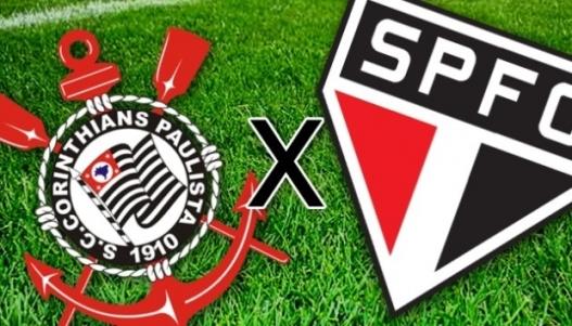 Resultado de imagem para Corinthians X São Paulo