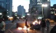 Fogo, bombas de gás e depredação marcam suspensão de sessão do Plano Diretor em SP