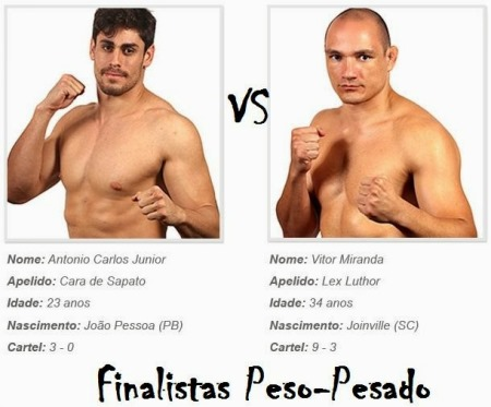 Antonio Carlos Junior vs Vitor Miranda, finalistas TUF 3 peso-pesado