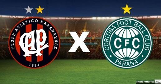 Atlético- PR  e Coritiba