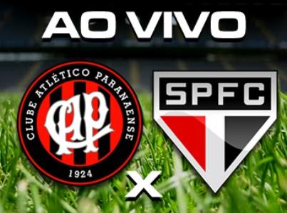 FICHA TÉCNICA ATLÉTICO-PR X SÃO PAULO