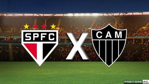 São Paulo e Atlético-MG