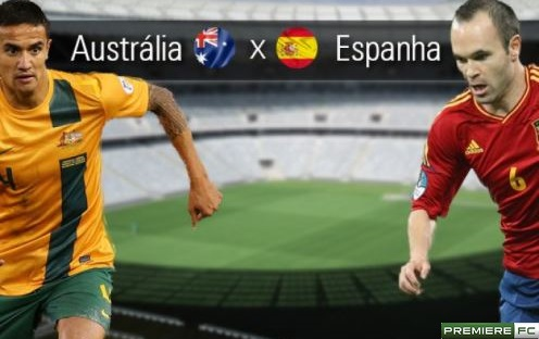 Australia e Espanha