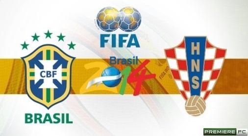 Brasil e Croacia