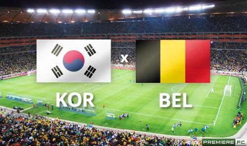 Coreia do Sul e Bélgica
