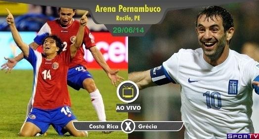 Costa Rica e Grécia