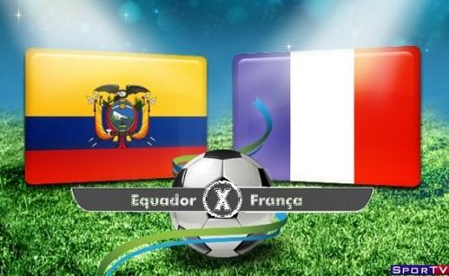 Equador e França