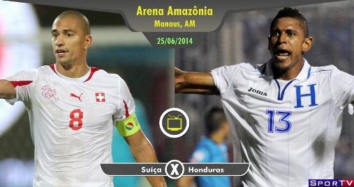 Suíça e Honduras