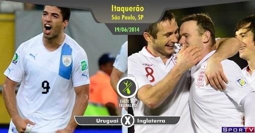 Uruguai e Inglaterra