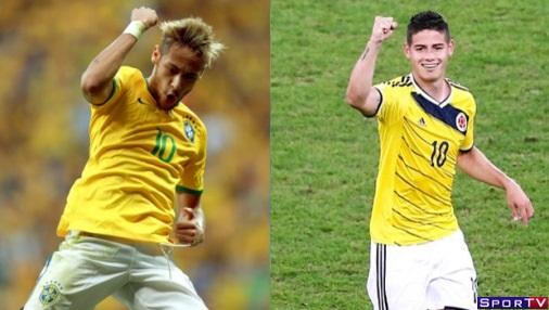 Brasil e Colombia
