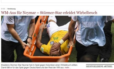 Die Welt - Neymar