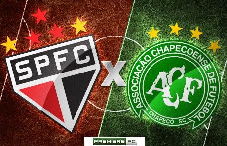 São Paulo e Chapecoense