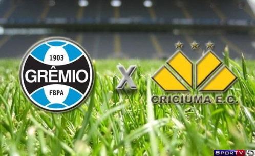 Grêmio e Criciúma