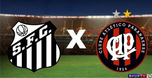 Santos e Atlético-PR