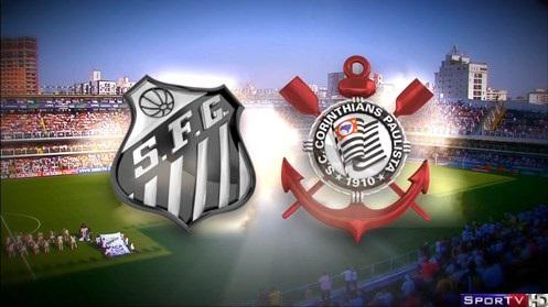 Santos e Corinthians