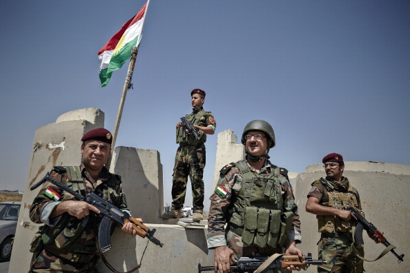 Curdos peshmerga
