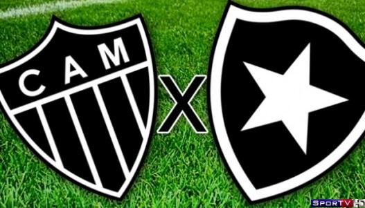 Atlético-MG e Botafogo