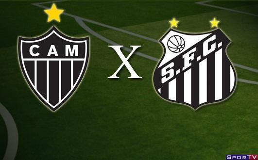 Atlético-MG e Santos