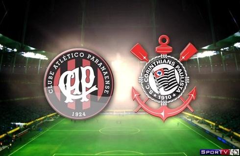 Atlético-PR e Corinthians