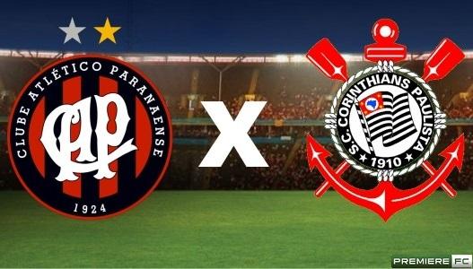 Atlético-PR x Corinthians