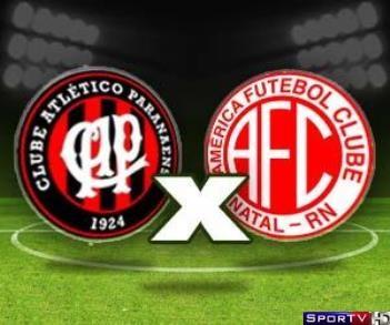 Atlético-Pr e America-Rn