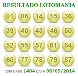 Lotomania 1484