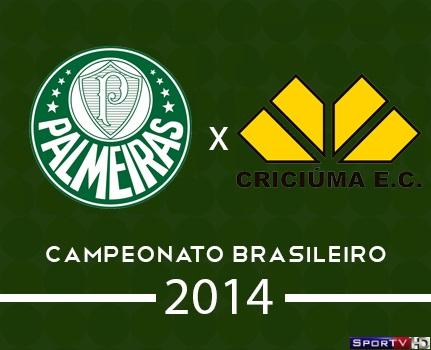 Palmeiras e Criciuma