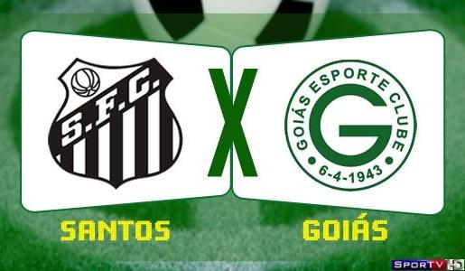 Santos e Goiás