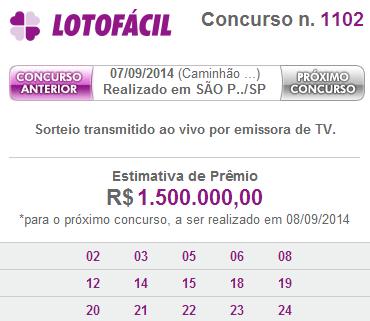 lotofacil 1102