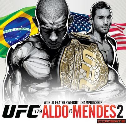 Aldo vs Mendes UFC 179