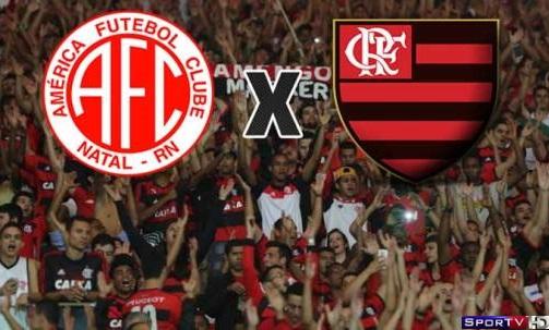 América-RN e Flamengo