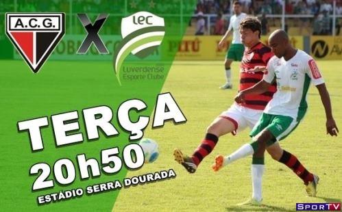 Atlético-GO e Luverdense