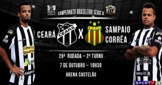Ceará e Sampaio Correa