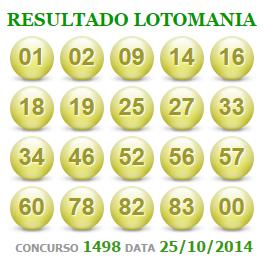 Lotomania 1498