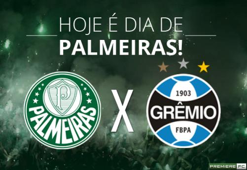 Assistir Grêmio x Palmeiras hoje ao vivo 19/10/2016