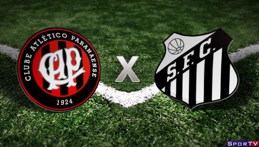 Atlético-PR e Santos