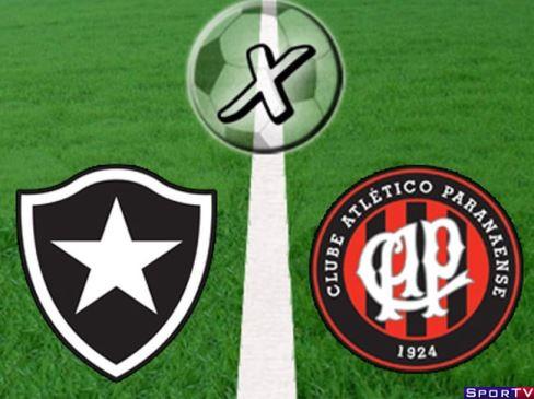 Botafogo e Atlético-PR