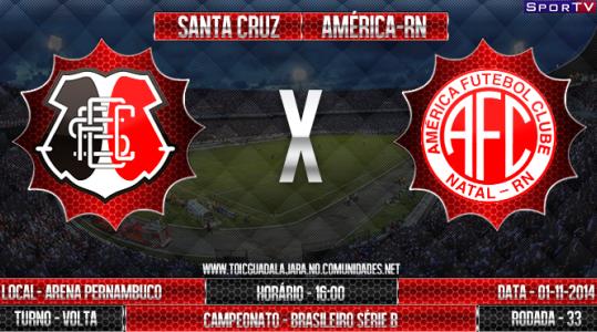 Santa Cruz e América-RN