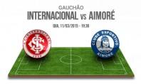 Ao vivo – Internacional x Aimoré – Campeonato Gaúcho 2015