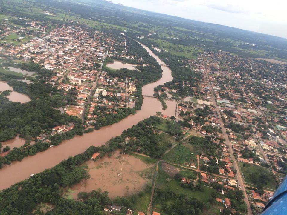 Imagem aérea da área (Foto: Lucas Serrou Queiroz Botelho)