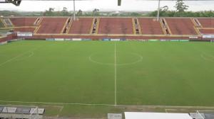 Estádio demonstrou falta de segurança