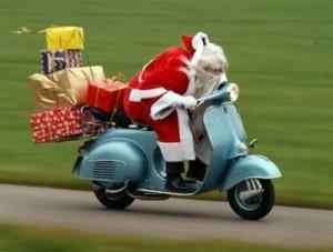 Acompanhe o papai noel com mensagens de natal