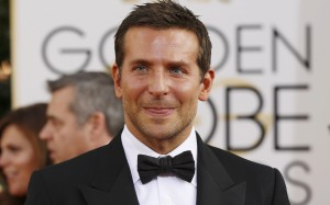 """Actor Bradley Cooper from the film """"American Hustle"""" arrives at the 71st annual Golden Globe Awards in Beverly Hills"""